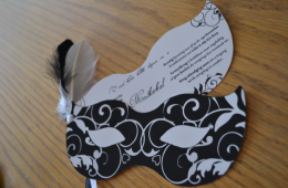 Masked ball invites