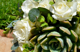 Lace & Hessian wedding